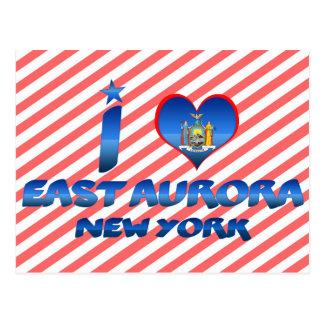 Amo la aurora del este, Nueva York Postal