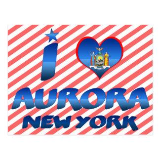 Amo la aurora, Nueva York Postales