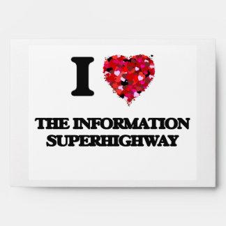 Amo la autopista de información sobres