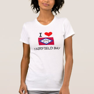 Amo la BAHÍA Arkansas de FAIRFIELD Camiseta