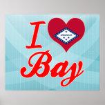 Amo la bahía, Arkansas Posters