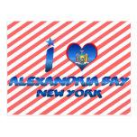 Amo la bahía de Alexandría, Nueva York Postal