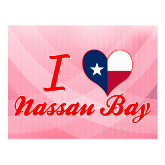 Amo la bahía de Nassau, Tejas Postales