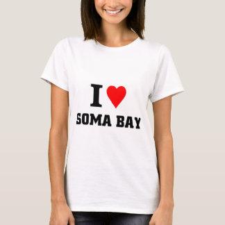 Amo la bahía del Soma Playera
