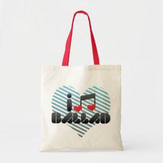 Amo la balada bolsas