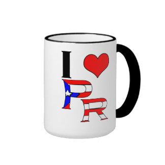Amo la banda tazas de café