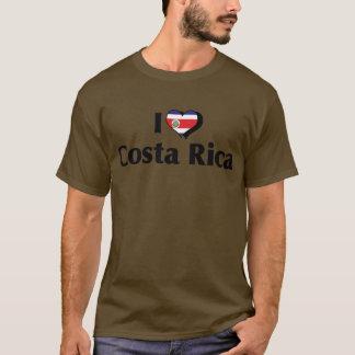 Amo la bandera de Costa Rica Playera