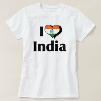 Amo la bandera de la India Playera