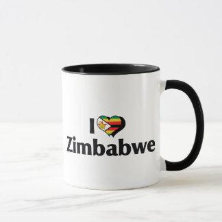 Amo la bandera de Zimbabwe