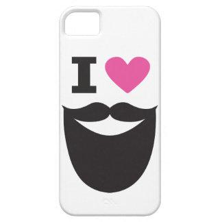 Amo la barba - rosa funda para iPhone SE/5/5s