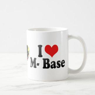 Amo la base del m tazas de café