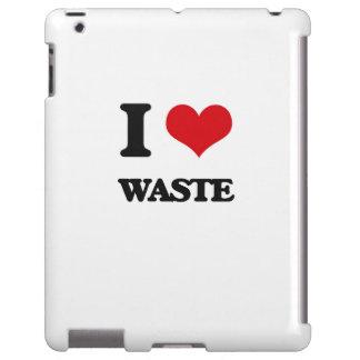 Amo la basura funda para iPad