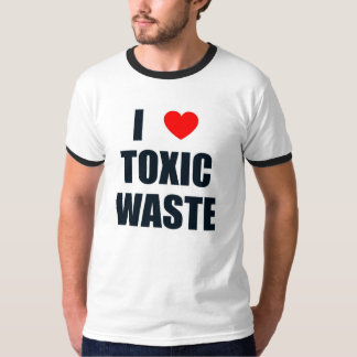 Amo la basura tóxica poleras