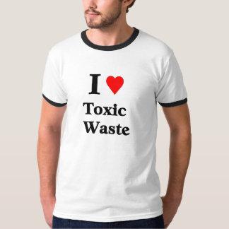 Amo la basura tóxica remeras