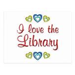 Amo la biblioteca postal
