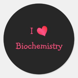 Amo la bioquímica etiquetas