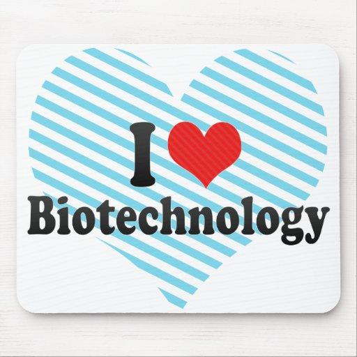 Amo la biotecnología alfombrillas de ratones