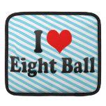 Amo la bola ocho funda para iPads