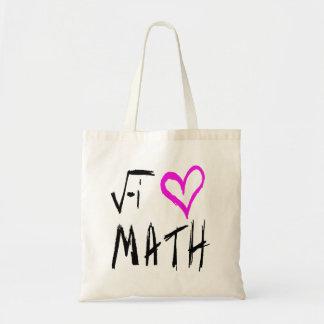 Amo la bolsa de asas de la matemáticas