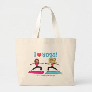 Amo la bolsa de asas de la yoga