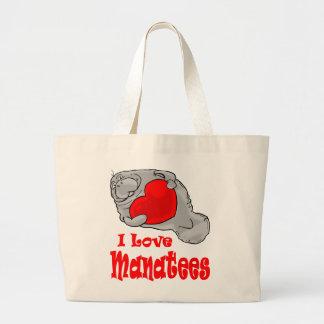 Amo la bolsa de asas de los Manatees
