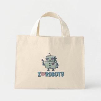Amo la bolsa de asas de los robots