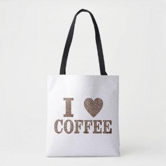 Amo la bolsa de asas del café