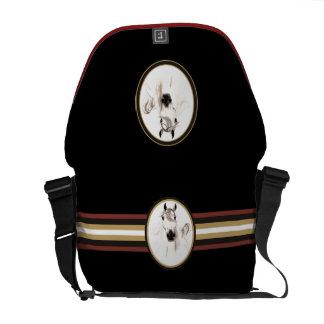 Amo la bolsa de mensajero árabe del carrito de los bolsa messenger