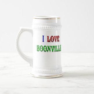 Amo la Boonville-Taza Jarra De Cerveza