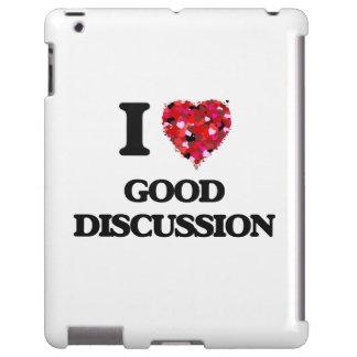 Amo la buena discusión funda para iPad