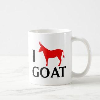 Amo la cabra taza