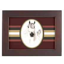 Amo la caja árabe del recuerdo de los caballos