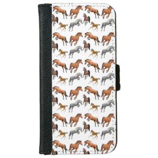 Amo la caja de la cartera de la galaxia S5 de Carcasa De iPhone 6