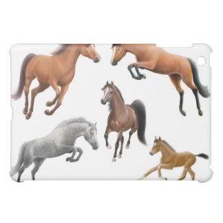 Amo la caja de la mota de los caballos