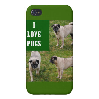 Amo la caja de parachoques de la mota de los barro iPhone 4 carcasas