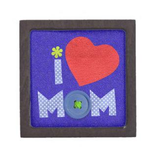 amo la caja de regalo de la mamá caja de joyas de calidad