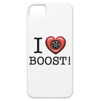 Amo la caja del teléfono del alza de Turbo Funda Para iPhone 5 Barely There