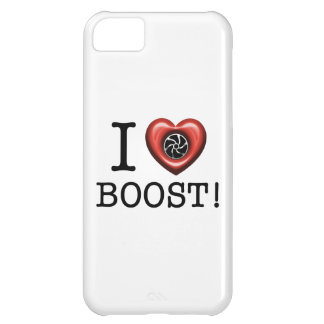 Amo la caja del teléfono del alza de Turbo Funda Para iPhone 5C