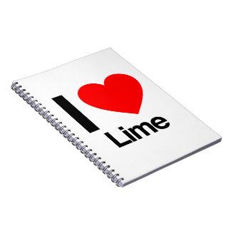 amo la cal cuaderno