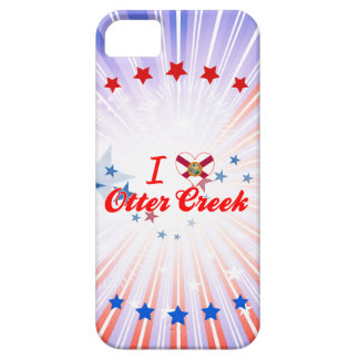 Amo la cala de la nutria, la Florida iPhone 5 Case-Mate Protectores