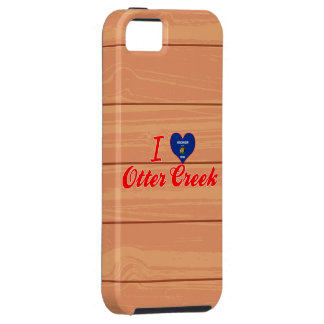 Amo la cala de la nutria, Wisconsin iPhone 5 Case-Mate Fundas