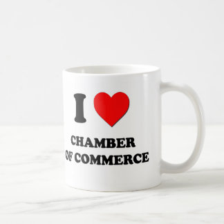 Amo la Cámara de Comercio Taza