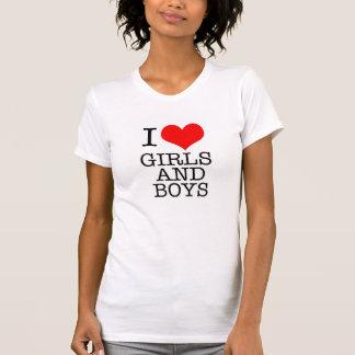 """""""Amo"""" la camisa bisexual del orgullo LGBT"""
