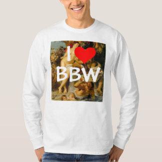 Amo la camisa de BBW