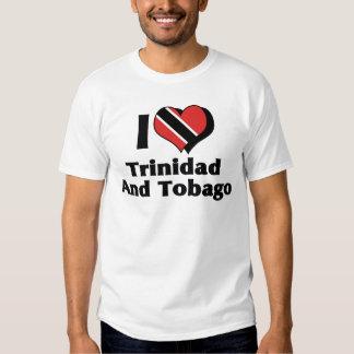 Amo la camisa de la bandera de Trinidad and Tobago