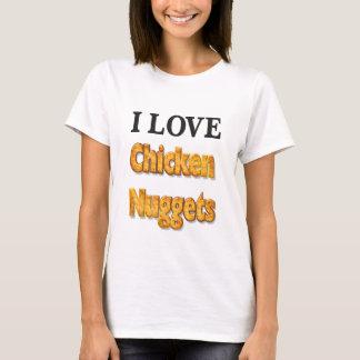 Amo la camisa de la diversión de las pepitas de