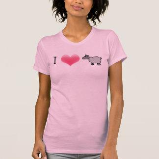 Amo la camisa de la oveja