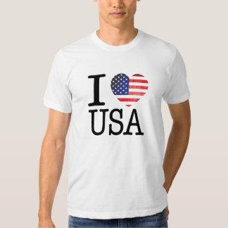 Amo la camisa de los E.E.U.U.