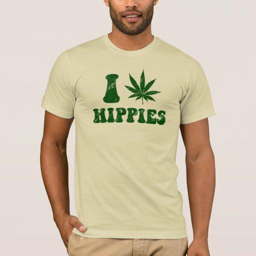 Amo la camisa de los hippies