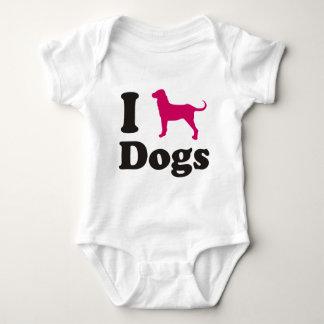 Amo la camisa de los perros